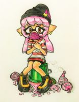 {Comm.} LittlePikaboo's Inkling by AmyRosers