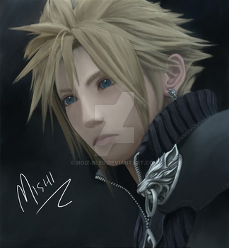 Cloud Strife by Noiz-Bleu