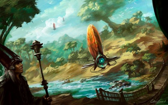 Airship by PixelObsession