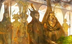 The Queens Chambers (Prophets of the Ghost Ants) by m0zch0ps