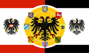 Alternate flag of the Greater German Empire by Ehec3000