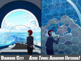 Diamond City - Aquarium (Interior) by tazsaints