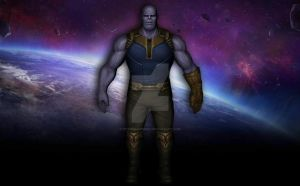 Thanos (Infinity War) by Pitermaksimoff