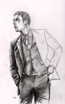 Russell Tovey in a Suit by noelle-chan