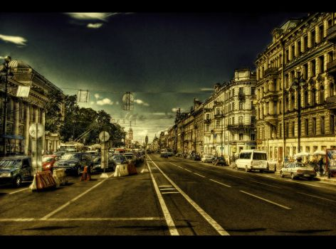 It is a Long Road HDR by ISIK5