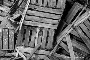 Old Crates  by peterkopher