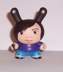 Likeness dunny commission by Calcifer-Boheme
