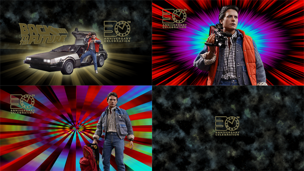 Back to the future 30th Anniversary | Wallpapers by iFab