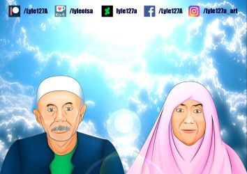 [PORTRAIT] Rest in Peace, My Late-Grandparents by Lyle127A