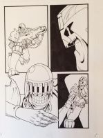 Dredd and Death page by JeremyWDunn