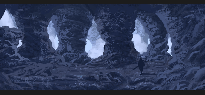 Cave Speed Painting by RatonBallZ
