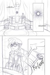 Guardians of Gezuriya Sketch Comic Preview by glance-reviver