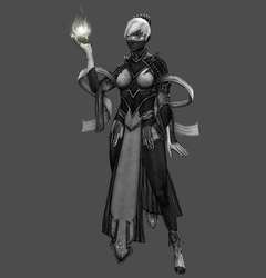Norn Necromancer - Guild Wars 2 by HEARTless--x
