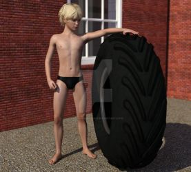 Big Tire by AndySanderson