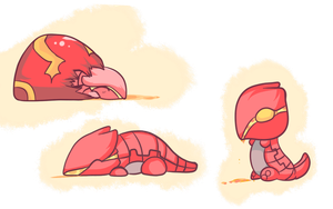 ORAS: Baby Groudon Concept by Chibi-Kylie
