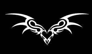 Tribal Winged Heart by LordSethD