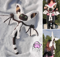 Lifesize Momo plush - Avatar by PinkuArt