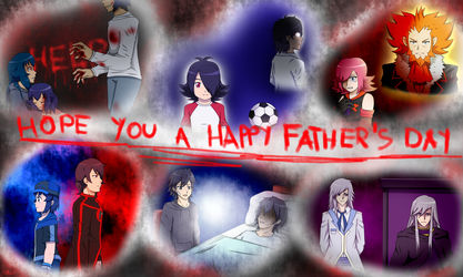 Hope you a happy father s day (REALLY LATE) by HikouKazex3