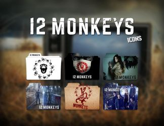 12 Monkeys Folder Icon by Eanzito