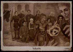 The Black Nag: Family Picture by coupleofkooks