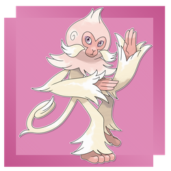 Psimian, Awareness Fakemon by FakeMakeT
