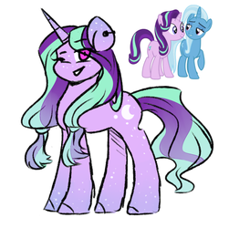 Starlight glimmer x Trixie - Adopt by f-lowers088
