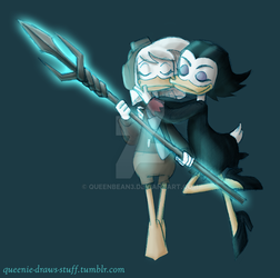 Ducktales - The Spear and the Sorceress by queenbean3