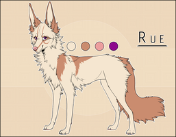 OLD Fursona: Rue by Ruekine