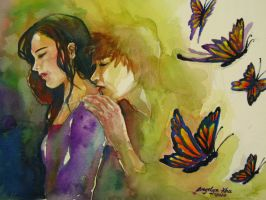 butterfly kisses by nelyang17