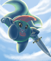 Jumping into action by VasteelNoire