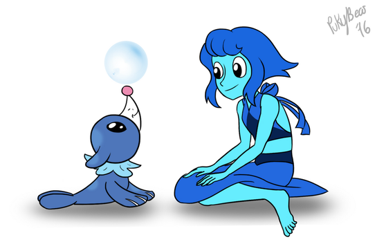 Water Friends by PukyBear