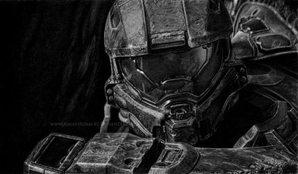HALO 4: The Master Chief by Angelstorm-82