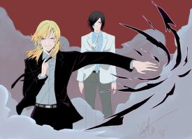 Noblesse  Frankenstein and Rai by ComplexWish