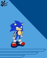 Sonic The Hedgehog! by PandaKillerGao