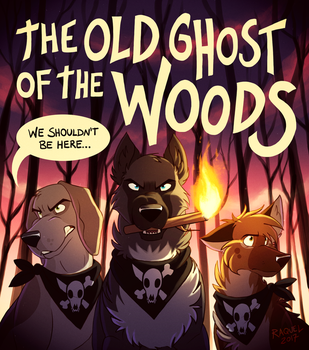 The Old Ghost of the Woods by Skailla