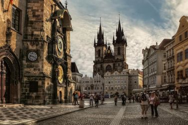 Prague - Old Town Square by pingallery