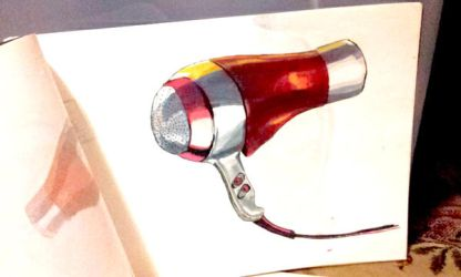 Hairdryer Illust by kiefers24