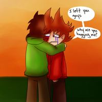Eddsworld Posing Practice #1: Tord's Remorse by Jolibe
