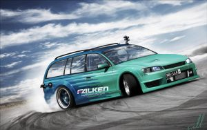 Opel Omega - Falken by wallla
