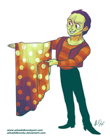 Garak the Humble Tailor by SpacelingArt