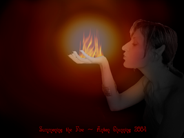 Summoning the Fire by AntonChanning