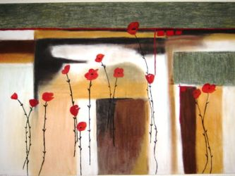 Red Poppies by Cristina122