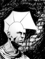 Bruce Willis Savage Dragon by NickJustus