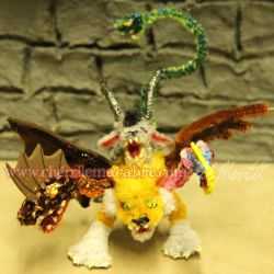 Chimera Miniature by the-gil-monster