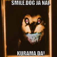 Kurama is smile.dog! by 1erickf50