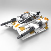 BrickSnowspeeder by VanishingPointInc