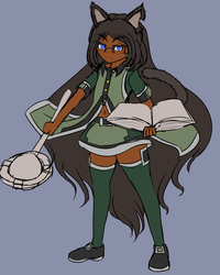 [Character] Lia Reference - (WIP) by Voleno