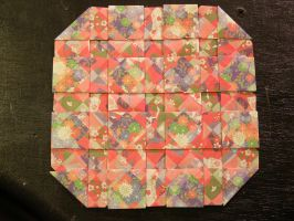 Square Window Quilt by 1sand0s
