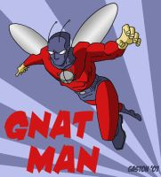 Gnat Man Fanart by Gaston25