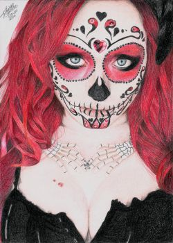 Sugar Skull by Thiago-NightCrawler